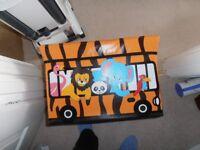 tiger storage box for a child
