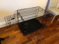 Kong dog crate with mattress and beds medium size