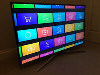"ULTRA THIN - Samsung 40"" Smart 4k UHD -1500hz- HDR CRYSTAL COLOUR wifi TV - WARRANTY"