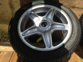 "16"" Mini Cooper alloy wheels"