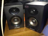 Alesis elevate 3 studio speakers