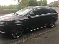 Audi Q7 S line - Black - Stunning Example