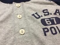 BRAND NEW Ralph Lauren 2017 Kids Boys Age 8-9 USA 1967 Polo Long Sleeve Tshirt Top 20.00 100sales