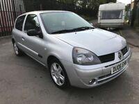 2006 RENAULT CLIO SPORT - HPI CLEAR - 12 MONTHS MOT