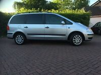 low mileage, new tyres, new battery, new brake pads, built in child seats, good condition,