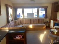 GREAT VALUE STATIC CARAVAN FOR SALE. QUIET PARK WITH STUNNING SEA VIEWS OVER NORTHUMBERLAND COAST.