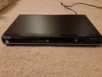 TOSHIBA DVD Player - Box, Instructions and Remote