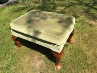Classic Parker-Knoll footstool in good condition