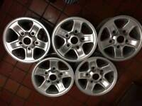 Land Rover defender alloy wheels x5
