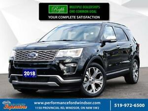 2018 Ford Explorer ***Fully loaded cap Unit Ford Explorer Platin