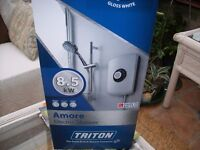 TRITON AMORE 8.5kW ELECTRIC SHOWER BRAND NEW