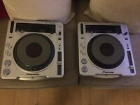 Pioneer CDJ 800 MK2 Pair *BEDROOM USE ONLY*