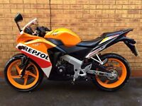 Honda CBR125 R 125cc *IMMACULATE, FSH & LOW MILES*