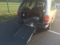 2001 Chrysler voyager 89k wheelchair accessible vehicle disabled access WAV c