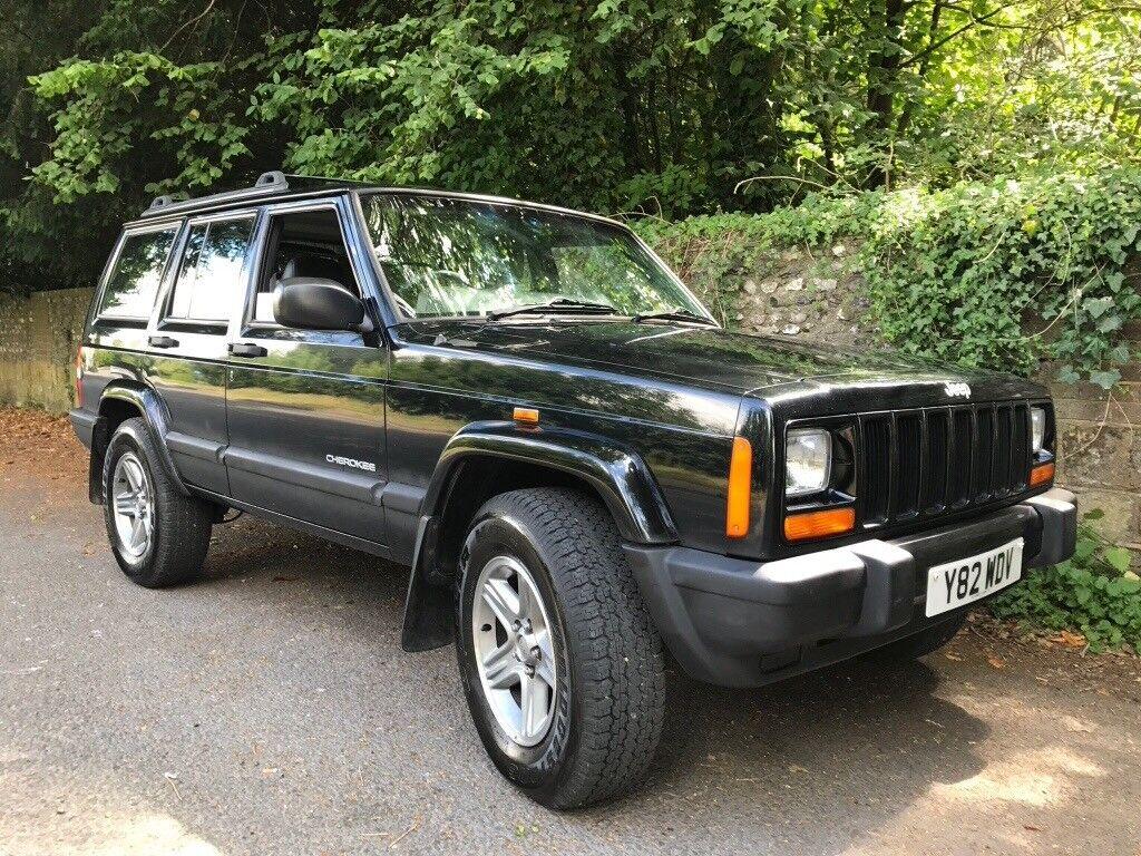 jeep cherokee xj 4 0 sport black 2001 in putney london. Black Bedroom Furniture Sets. Home Design Ideas