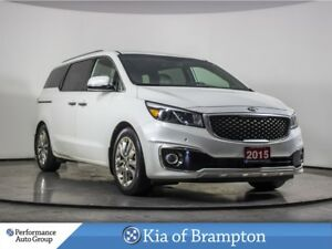 2015 Kia Sedona SXL. DUAL ROOF. DVD. LEATHER. HTD/COOL SEAT
