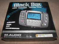 M-Audio Black Box Guitar Processor Recording Interface.