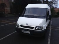 Ford Transit with full years MOT until Feb '18