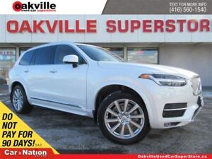 2016 Volvo XC90 T6 Inscription | AWD | LEATHER | PANO ROOF |7 PA