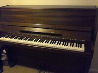 Kimble upright piano.