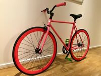 Custom built fixie for sale. Lightweight, durable and fun to ride