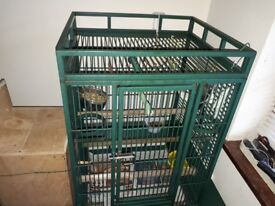 2 Large Parrot cage for sale