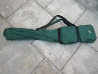 Crane Sports 5ft Carp Rod Holdall bag for 2 made up rods & accessories