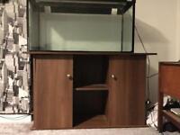 Juwel Aquarium Cabinet For 4ft tank Brown Wood