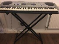 Casio LK-43 Keyboard full size with stand