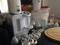 Tomee Tipee Perfect Prep and Steriliser set plus Extras
