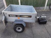 Daxara 107 light weight trailer
