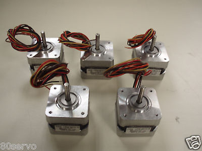 Minebea Step Stepper Motor 17pm-m012-13  Lot Of 5