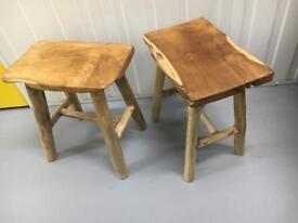 Teak wood side table new