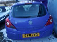 Vauxhall Corsa-d 1.2L ecoflex Engine, Passenger-door, boot-door, headlamps, seats, airbags, gearbox