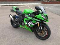 2013 KAWASAKI ZX6R WITH 6 MONTHS WARRANTY AND NATIONWIDE RECOVERY