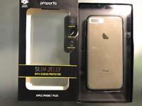 Apple 7plus gel case good condition