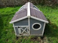 Lovely Wooden Rabbit Hutch RRP £200
