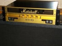 Marshall 9100 Dual MonoBloc Power Amplifier 50 watts a side