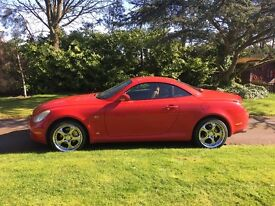 2003 LEXUS SC430 AUTO RED - Awesome Looks!