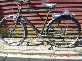Vintage Triumph mans roadster bicycle 3 speed