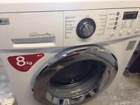 LG 8kg washing machine.