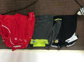 Original scottish/Portuguese/Swiss football shirts (large)