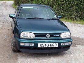 VW GOLF MK3 VR6 GENUINE AND LOW MILEAGE