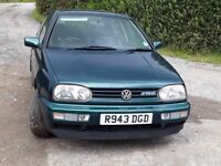 VW GOLF MK3 VR6 GENUINE AND LOW MILEAGE