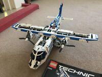 Lego Technic Cargo Plane 42025 - takes a while to build!