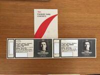 2 x Liam Gallagher Finsbury park Friday 29th June
