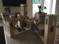 Melissa and Doug Wooden Castle with figures