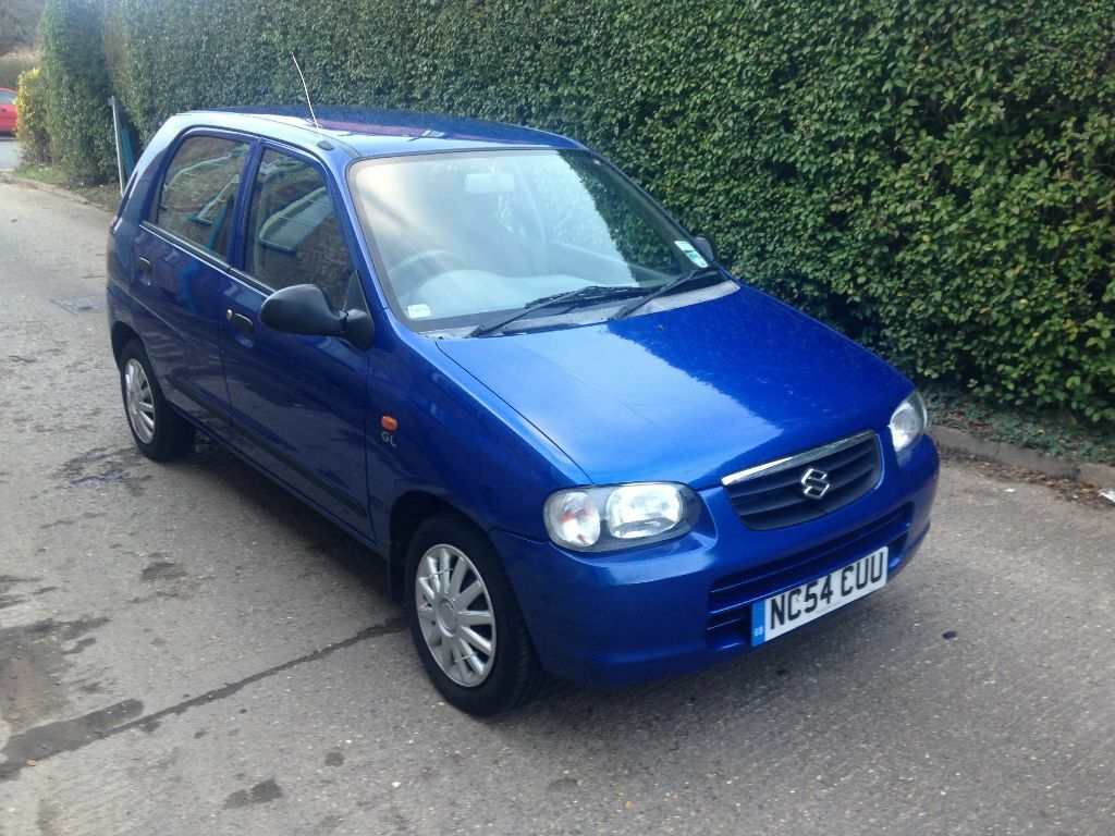 suzuki alto 1 1 gl 5dr 30 pound road tax year 2005 54 reg hatchback in leicester. Black Bedroom Furniture Sets. Home Design Ideas