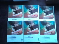 AAT accounting textbooks and workbooks units 8,9 ,11, 15, 19