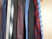 Mens ties pack of 10 ties